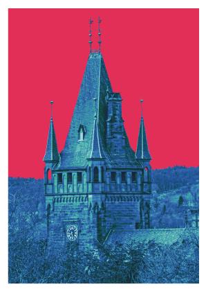 Schloss Bergheim, Turm