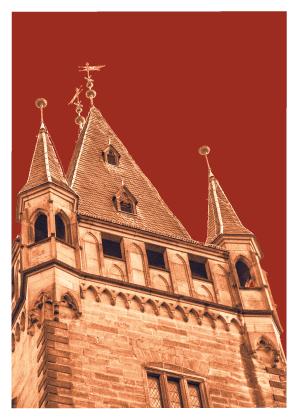 Schloss Bergheim, Turmspitz