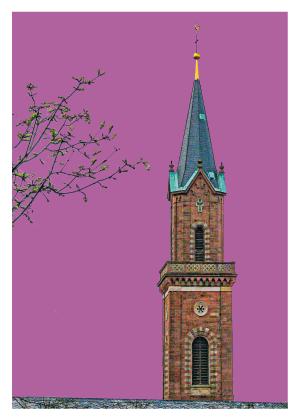 St. Laurentius Kirche, Glockenturm