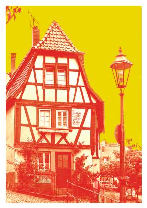 Plönlein in der Altstadt Weinheim